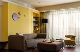 现代简约小户型客厅装修效果图2015