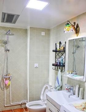 家用卫生间镜前灯效果图片
