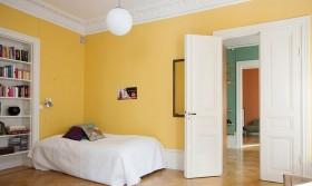 北欧风格卧室墙面颜色效果图