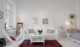 北欧风格小户型客厅效果图