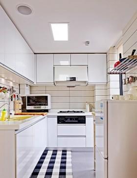 家庭小厨房装修效果图