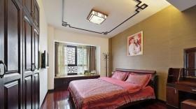 中式风格新房卧室装修效果图