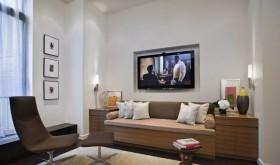 沙发电视背景墙装修效果图