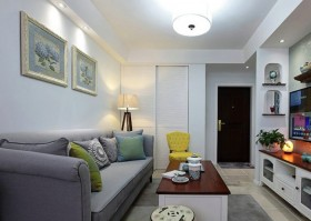 30平小客厅装修效果图