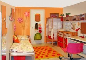 儿童房色彩搭配效果图