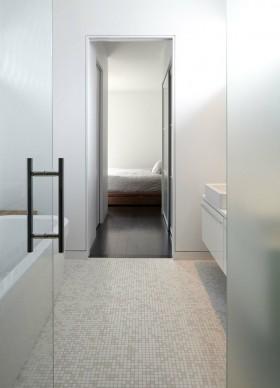 卧室洗手间白色瓷砖贴图