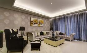 欧式风格家居客厅地板装饰图片
