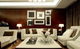 时尚客厅沙发背景墙效果图大全