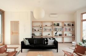 110平米日式三居室装修效果图大全2015图片