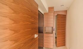 日式裝修設計室內門圖片