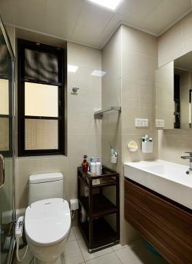 田园风格卧室卫生间图片欣赏