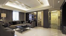 现代风格二室一厅装修图片