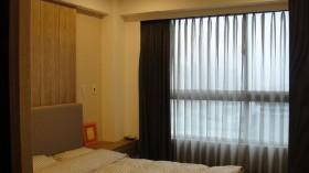 现代装修设计卧室窗帘效果图