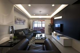现代风格三室两厅效果图2015大全