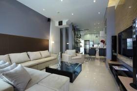 现代风格二居室装修