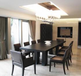 现代餐厅室内家装效果图片