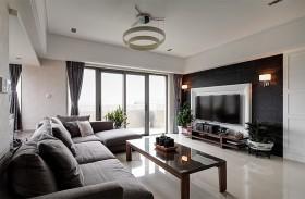 精简现代四居室装修案例