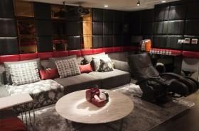 因为有你设计示意图复式欧式客厅装修效果图设计欣赏