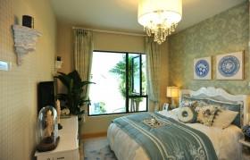三居法式风格三室两厅欧式主卧装修效果图设计欣赏