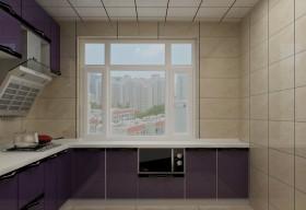 现代时尚厨房家电效果图