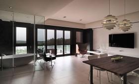现代风格客厅家装设计