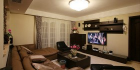 168平现代四居室客厅装饰