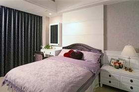 93平米新古典风格别墅卧室窗帘效果图