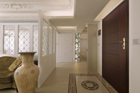 独特气质韵味 新古典优雅美家 公寓装修,120平米