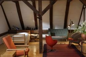 古香实木 巧手农妇的休闲复式楼 别墅装修,140平