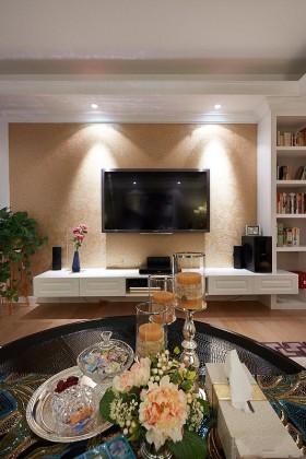 150平新古典风 奢华高贵三居室 三居室装修,14