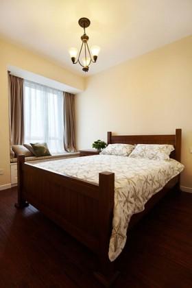 网购成就美式梦 98平新房装修 美式风格,富裕型装