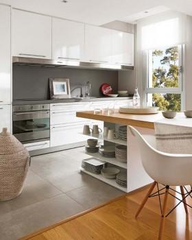 小厨房大用途 40款收纳性橱柜 公寓装修,80平米
