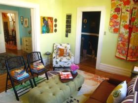 空间色彩搭配学之:五颜六色齐上阵 公寓装修,130