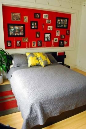 巧用墙面艺术 个性时尚现代房 公寓装修,二居室装修