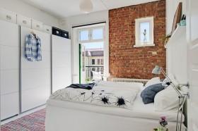 个性裸露墙面设计 雅致纯白家 公寓装修,130平米