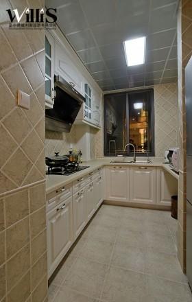 简约静逸合理布局 130平米12万半包 三居室装修