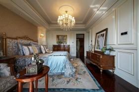 小户型卧室背景墙灯具家装整体效果图