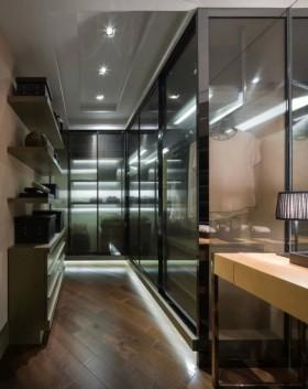 现代样板房家装整体衣柜效果图