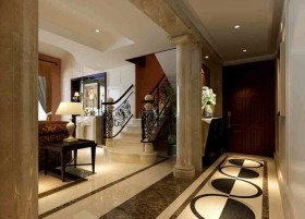 白色新古典客厅装修设计