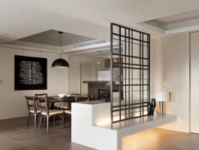 白色质感新古典风格餐厅装修设计