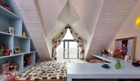 阁楼婚房榻榻米床垫效果图