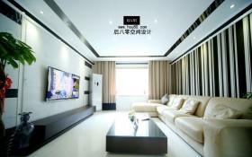 现代客厅电视机背景墙效果图片欣赏