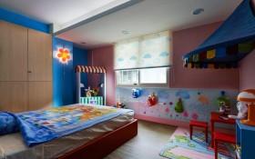 演绎北欧的清新质感 家装效果图设计两室一厅欧式儿童房装修效果图设计欣赏