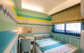古典私宅与现代大宅空间效果图设计两室一厅混搭儿童房装修效果图设计欣赏