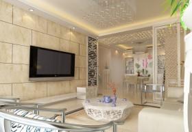 家庭装修瓷砖电视背景墙装修效果图