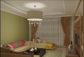 2015客厅吊灯装饰图片