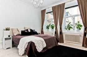 18万打造清新简欧风格装修卧室窗帘效果图大全2015图片
