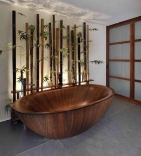 日式卫生间洁具放松的最佳方式