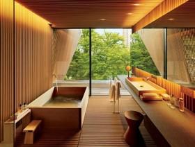 日式卫生间洁具日式浴室