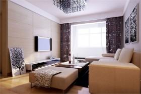 新现代装修风格3 三居 欧式 客厅 隔断